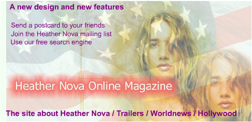 Logo of the Heather Nova Online Magazine
