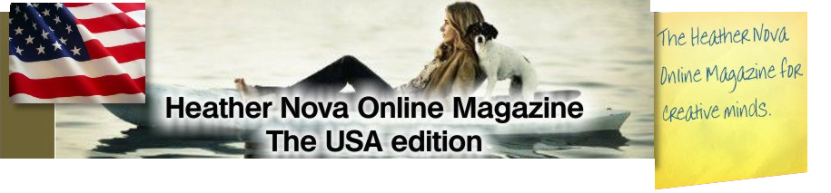 Logo Heather Nova Online Magazine